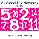 All About the Numbers 1-20: Math Activities to Build Number Sense and Counting