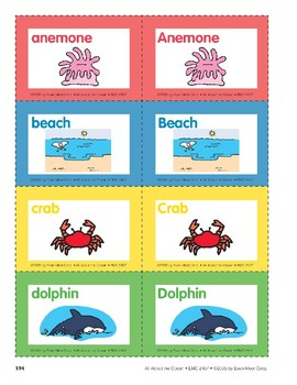 All About the Ocean: Alphabet Cards