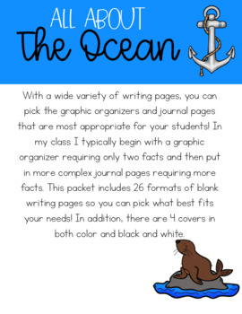 All About the Ocean Informational Journal