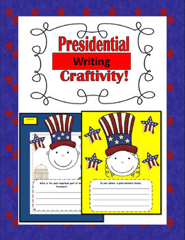 All About the Presidential Election PowerPoint, Mini Booklet, and Craftivity!
