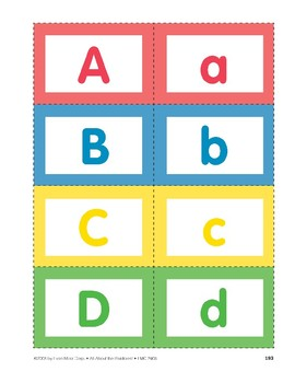 All About the Rainforest: Alphabet Cards
