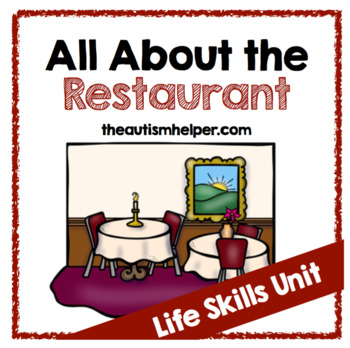 All About the Restaurant {Life Skills Unit}