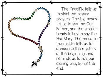 All About the Rosary {An Easy Reader for Primary Grades}
