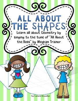 All About the Shapes Geometry Song Lyrics