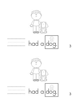 All About the Sight Word HE