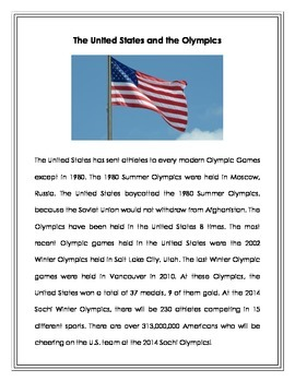 All About the Sochi Olympics 2014