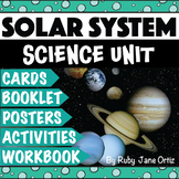 Solar System and Planets Worksheets, Activities, Posters, and Lapbook