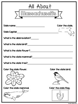 photograph relating to 50 States Activities Printable called All More than the Place Machusetts Worksheets. 2nd-5th Quality US Geography, Histor