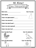All About the State New Hampshire Worksheets. 2nd-5th Grad