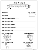 All About the State Pennsylvania Worksheets. 2nd-5th Grade