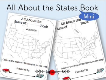 All About the States Mini Book (50 States)
