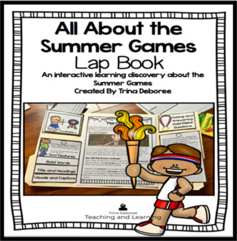 All About the Summer Games Lap Book