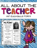 All About the Teacher