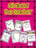 All About the Teacher Autobiography