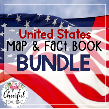 United States Map Book & Fact Book Bundle