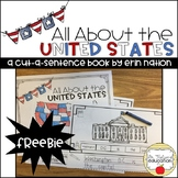 """""""All About the United States"""" a Cut-a-Sentence book"""