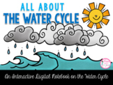 All About the Water Cycle Interactive Digital Notebook {PRINT & DIGITAL}