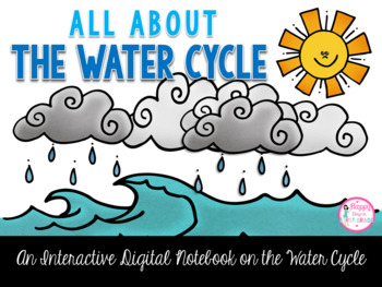 All About the Water Cycle Interactive Digital Notebook {Pa