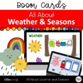 All About the Weather & Seasons Boom™ Digital Learning Task Cards