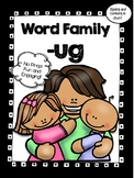 All About the Word Family ug! - No Prep! Word Work!