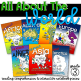 All About the World Set {7 Continent Study}