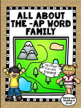 All About the -ap Word Family! - No Prep! Real Photos!