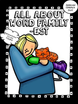 All About the word family -est! - Word Work! No Prep