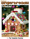 All About Gingerbreads - A nonfiction book and activity pages Freebie
