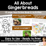 Gingerbread Man and House A Non-Fiction Book and Unit for
