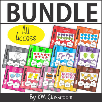 All Access Emergent Readers Puzzle Bundle