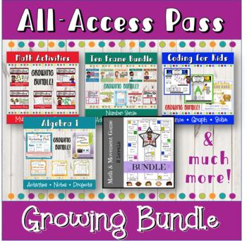 All-Access Pass: Growing bundle