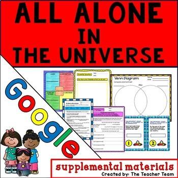 All Alone in the Universe Journeys 6th Grade Unit 5 Google Drive Resource