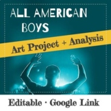 All American Boys Art Project & Discussion Questions