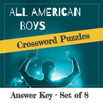 All American Boys Chapter Crossword Puzzles