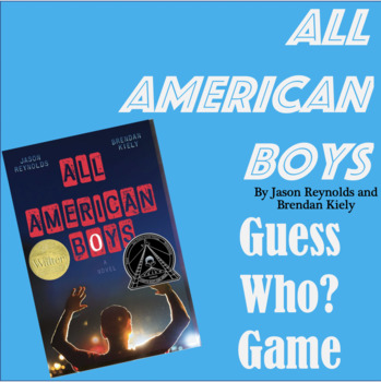All American Boys - Guess Who? Game