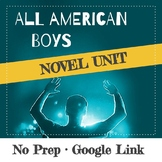 All American Boys Jason Reynolds & Brendan Kiely Novel Unit