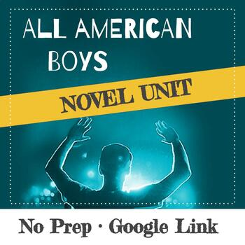All American Boys Jason Reynolds & Brendan Kiely Novel Unit