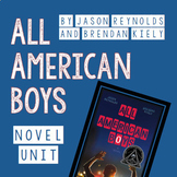 All-American Boys Novel Unit