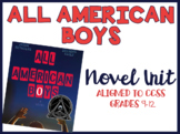 All American Boys Novel Unit