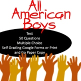 All American Boys Test