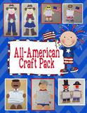 All American Craft Pack - 5 Craft Bundle