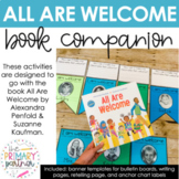 All Are Welcome Book Companion Activity Banner