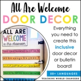All Are Welcome Door Decor