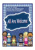 All Are Welcome Poem, Inclusion, Diversity, Classroom Fami