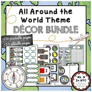 All Around The World Classroom Bundle