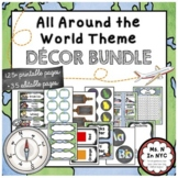 'All Around The World' Classroom Decor Bundle