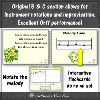 All Around the Buttercup: Orff, Rhythm, Melody, Improvisation and Movement