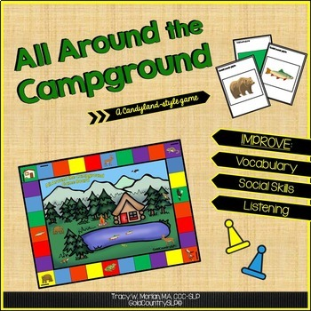 All Around the Campground Game Board Set