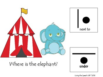All Around the Circus-Interactive Spatial Concepts Book