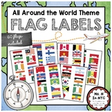All Around the World Theme - Flags